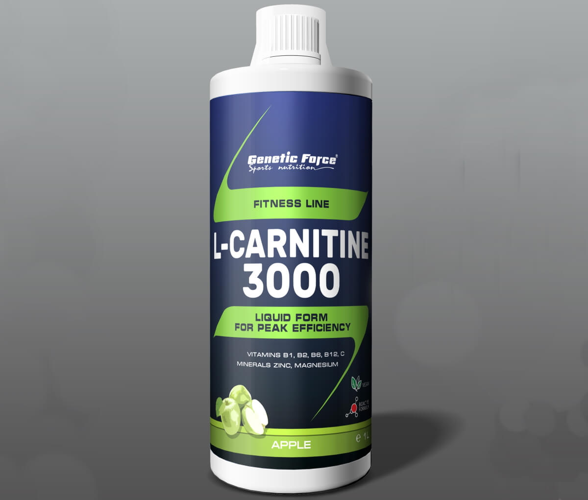 Genetic Force • L-Carnitine 3000 • 1000 мл.