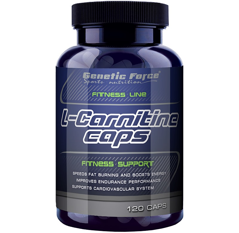 Genetic Force • L-Carnitine (Л-Карнитин) 120 таб.