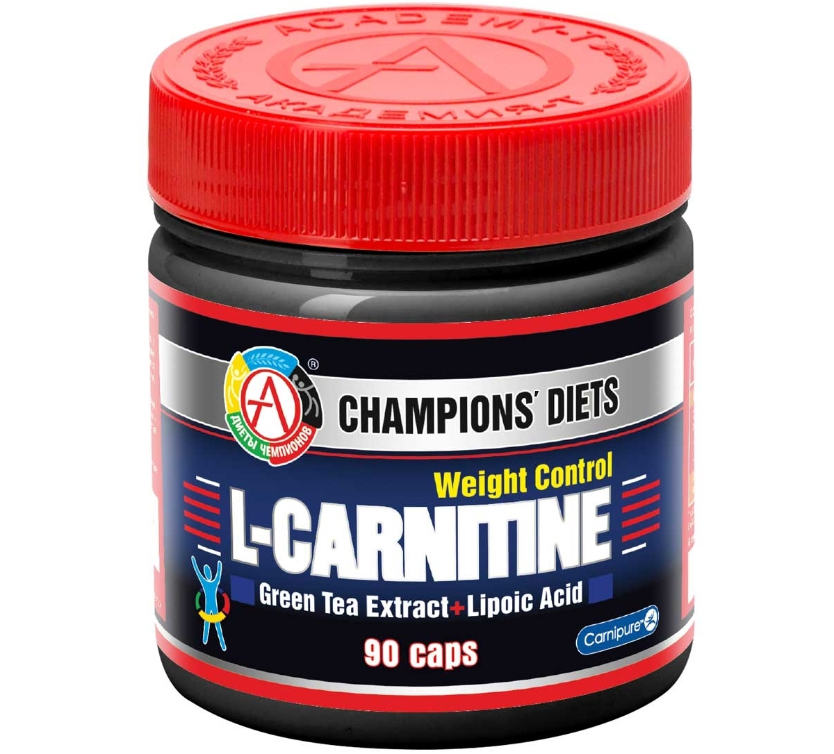 АКАДЕМИЯ-Т • L-carnitine Weight Control • 90 капс