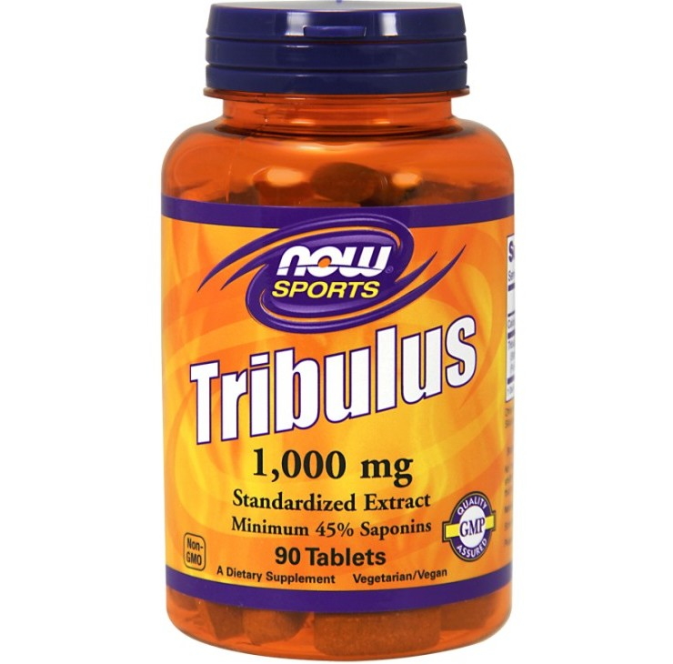 NOW Foods • Tribulus 1000 mg • 90 Tablets.