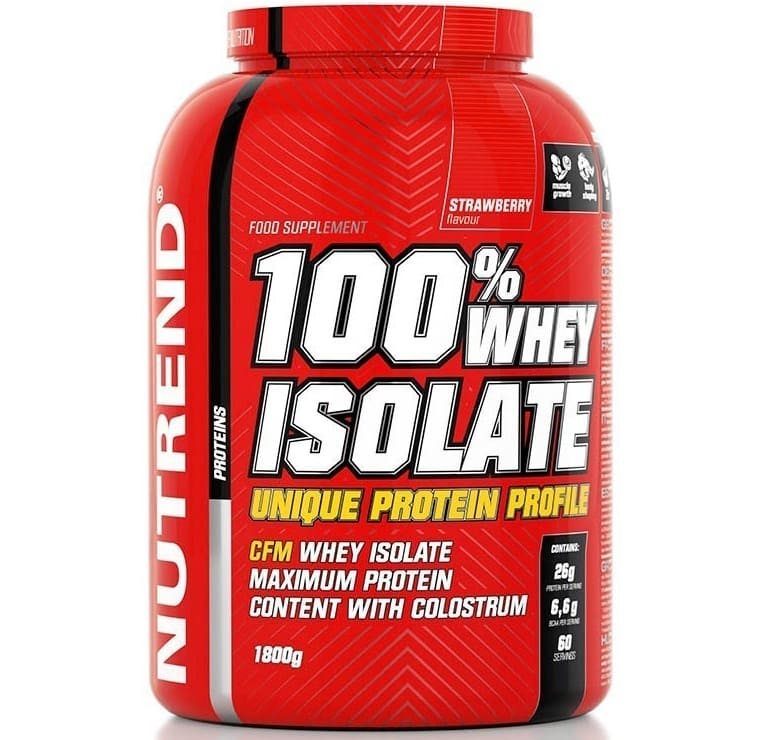 Nutrend • 100% Whey Isolate • 1800 г