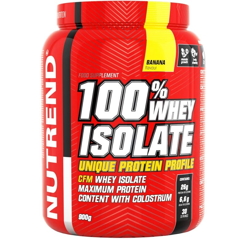 Nutrend • 100% Whey Isolate • 900 г