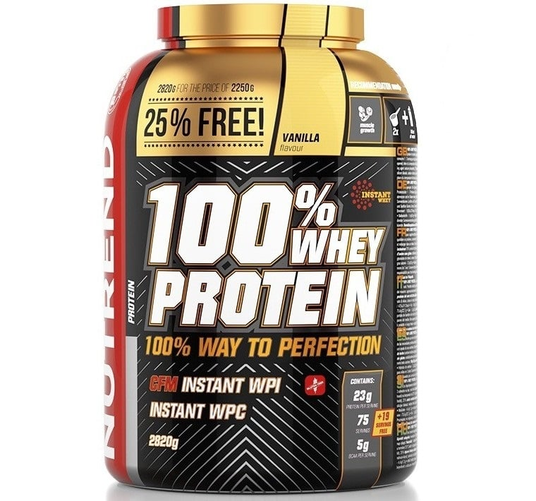 Nutrend • 100% WHEY PROTEIN • 2820 г