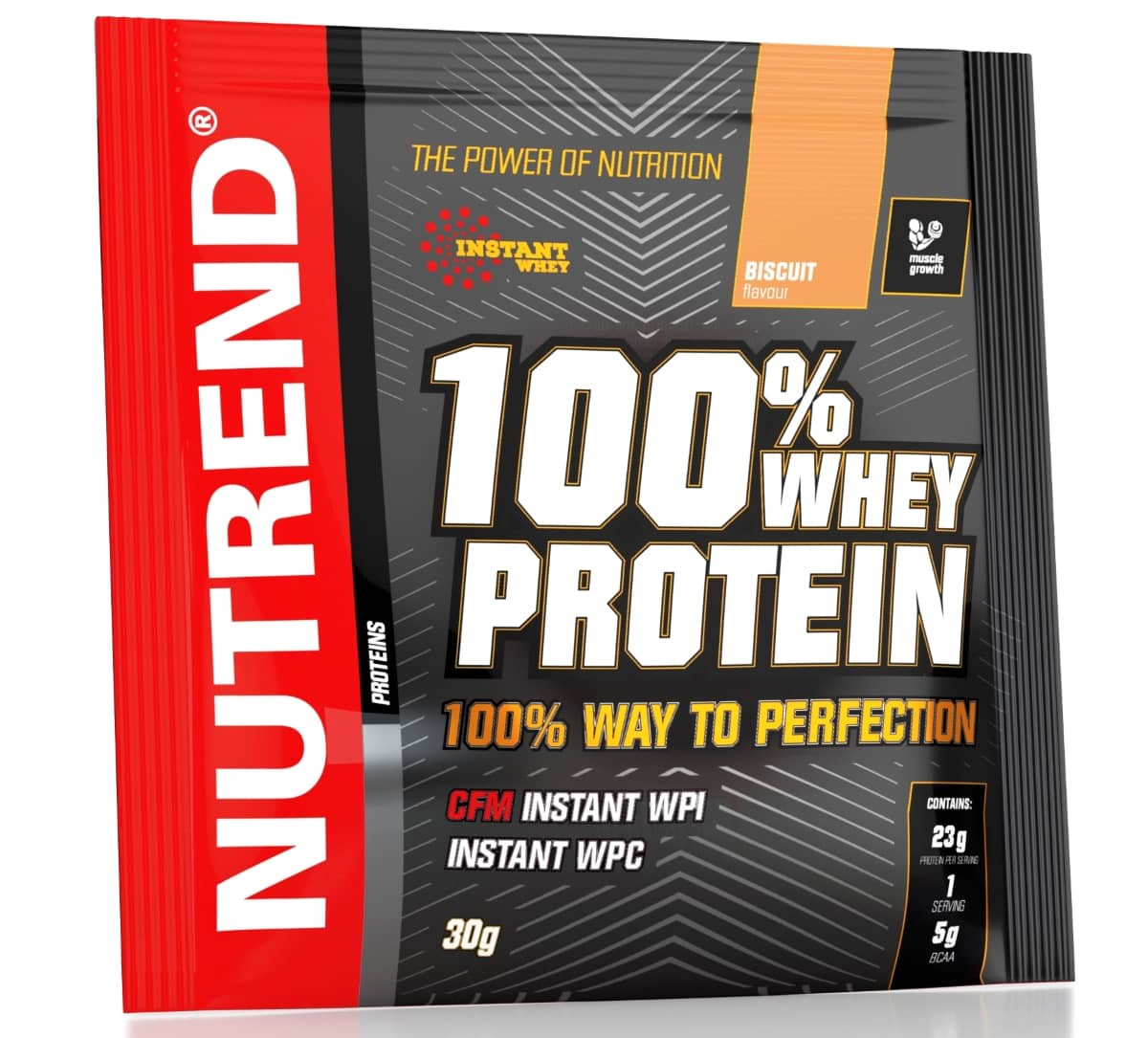 Nutrend • 100% WHEY PROTEIN • 30 г