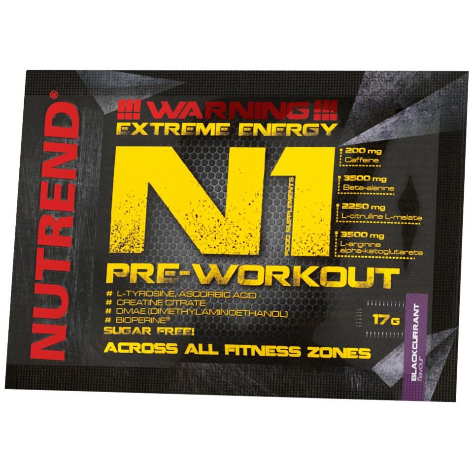 Nutrend • N1 Pre-Workout Long • 17g