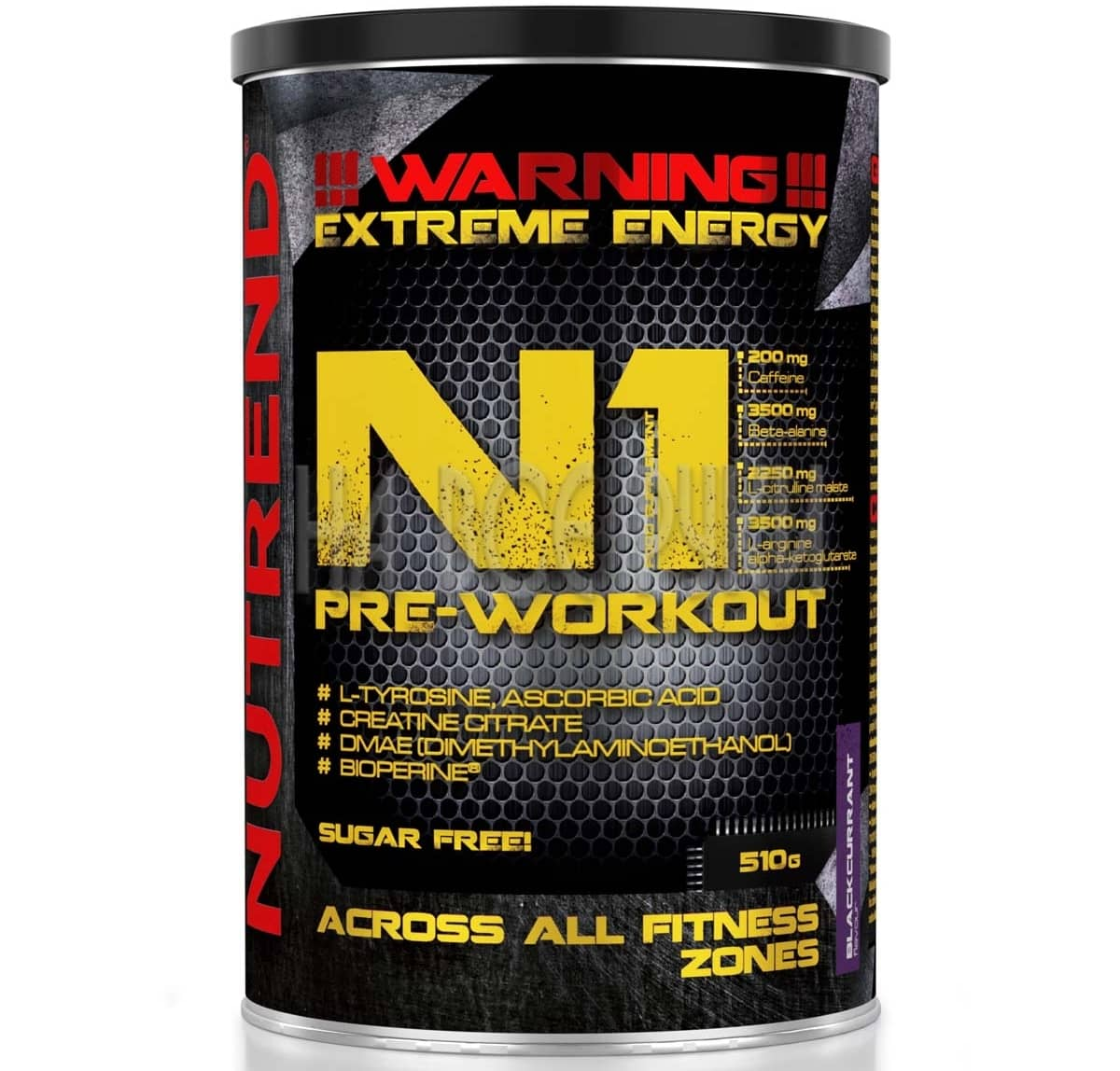 Nutrend • N1 Pre-Workout Long • 510g