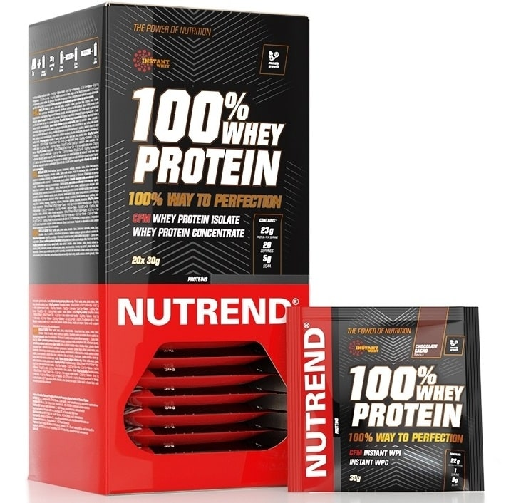Nutrend • 100% WHEY PROTEIN • 20*30 г