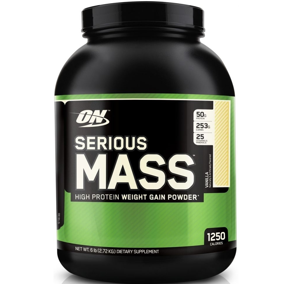 Optimum Nutrition • Serious Mass • 6lb (2,72 кг)