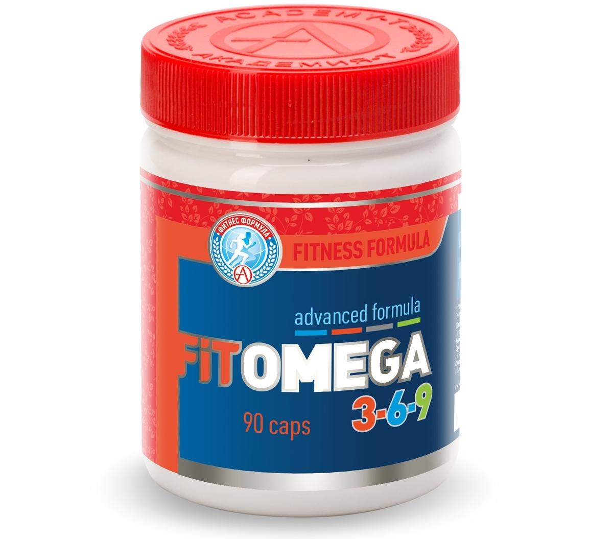 АКАДЕМИЯ-Т • Fit Omega 3-6-9 • 90 капс