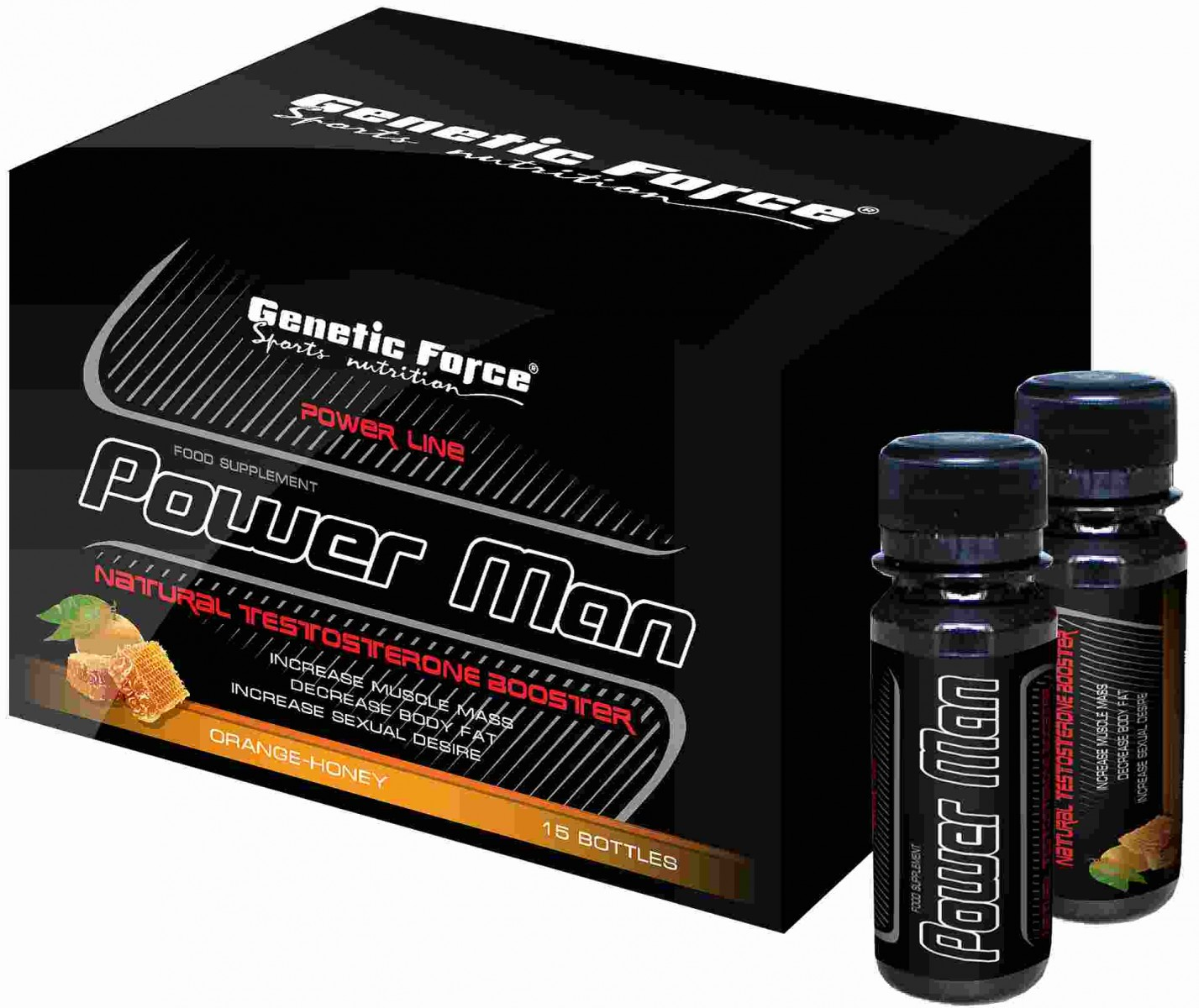 Genetic Force • Power Man • 15x60 мл.