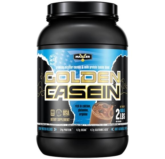 MAXLER • 100% Golden Casein • 907 г