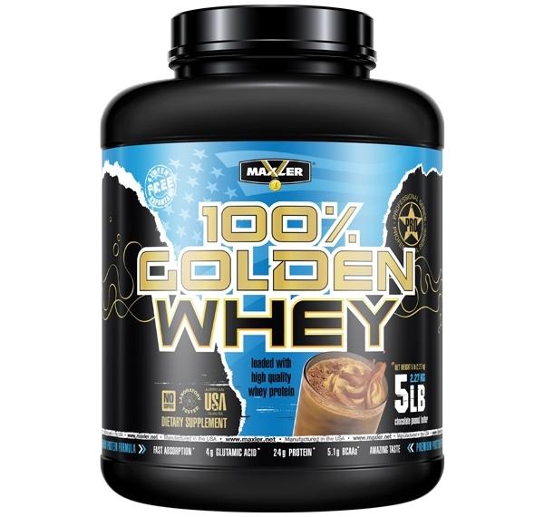 MAXLER • 100% Golden Whey • 2270 г