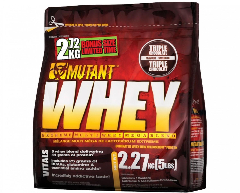 Mutant Whey • (5 lbs / 2270 г)