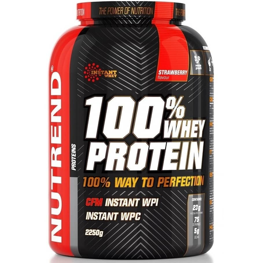 Nutrend • 100% WHEY PROTEIN • 2250 г