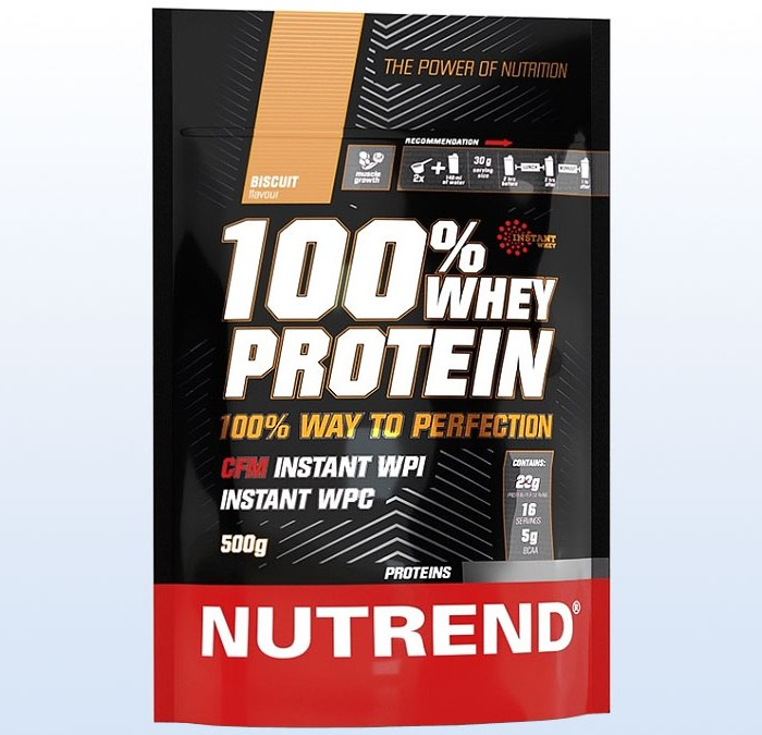 Nutrend • 100% WHEY PROTEIN • 500 г