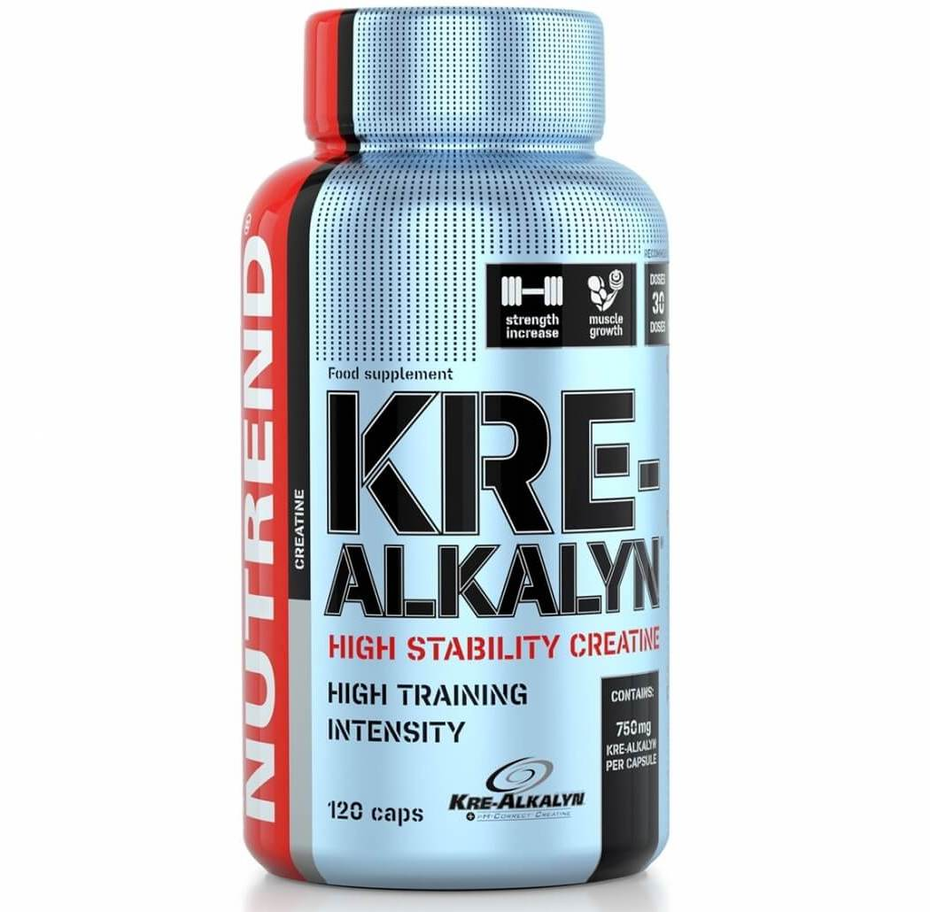 Nutrend • Kre-Alkalyn • 120caps