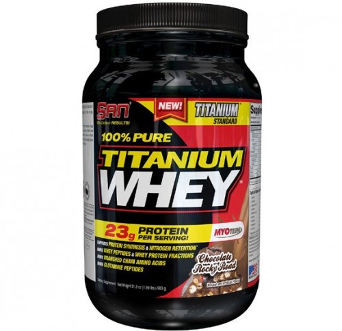 SAN • 100% Pure Titanium Whey • 908 гр.