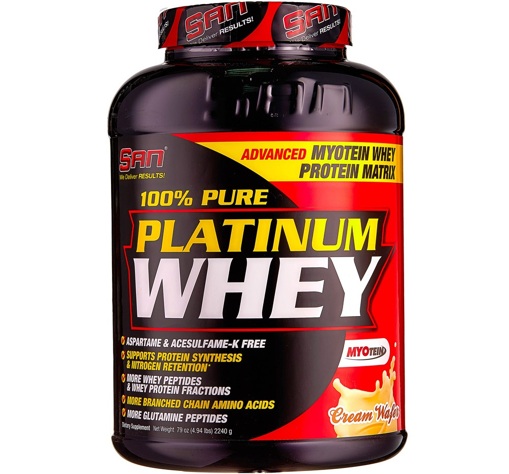 SAN • 100% Pure Platinum Whey • 2240 гр.