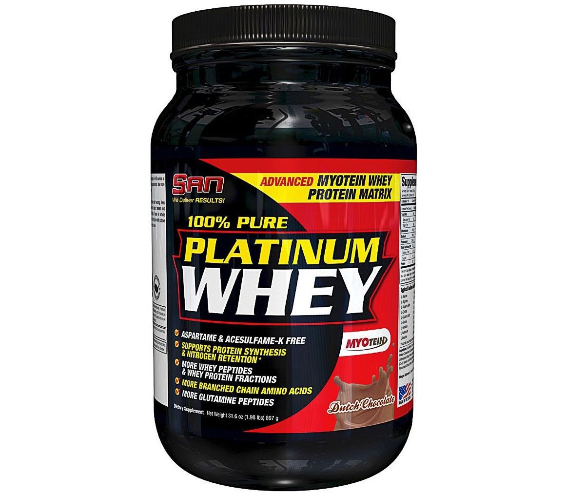 SAN • 100% Pure Platinum Whey • 897 гр.