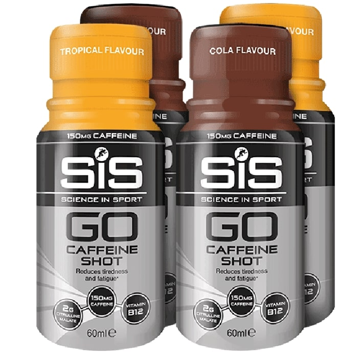 SiS • GO Caffeine Shot Bundle • 4*60 мл