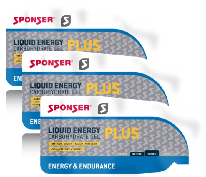 Sponser • Liquid Energy plus • 40х40 гр.