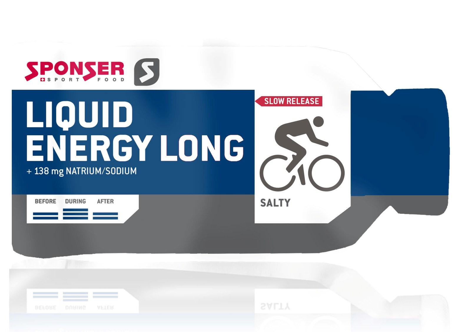 Sponser • Liquid Energy Long • 40x40 гр.