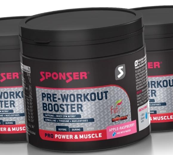 Sponser • Pre Workout Booster • 256 гр.