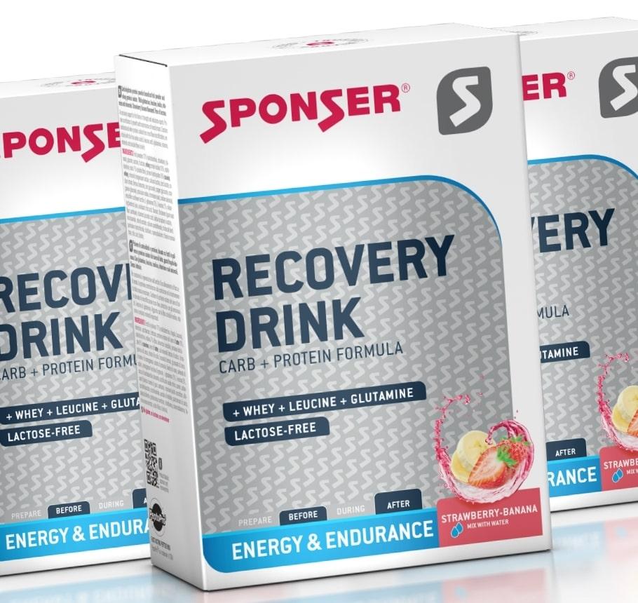 Sponser • Recovery Drink • Sponser • 20х60 гр.