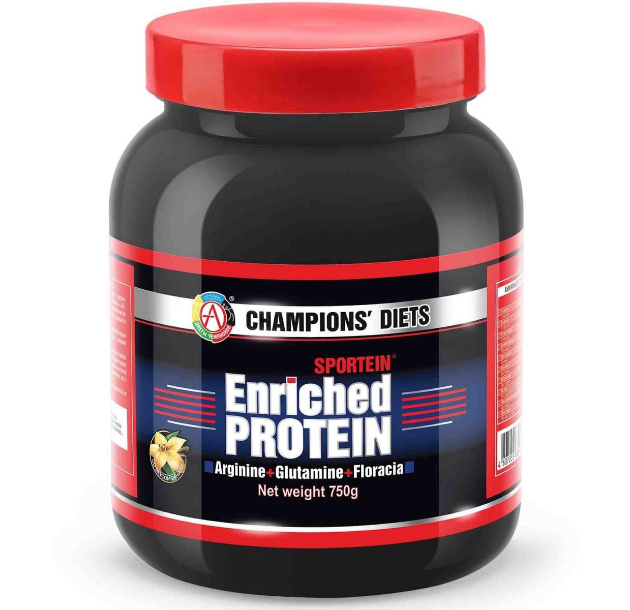 АКАДЕМИЯ-Т • SPORTEIN® Enriched Protein • 750 г