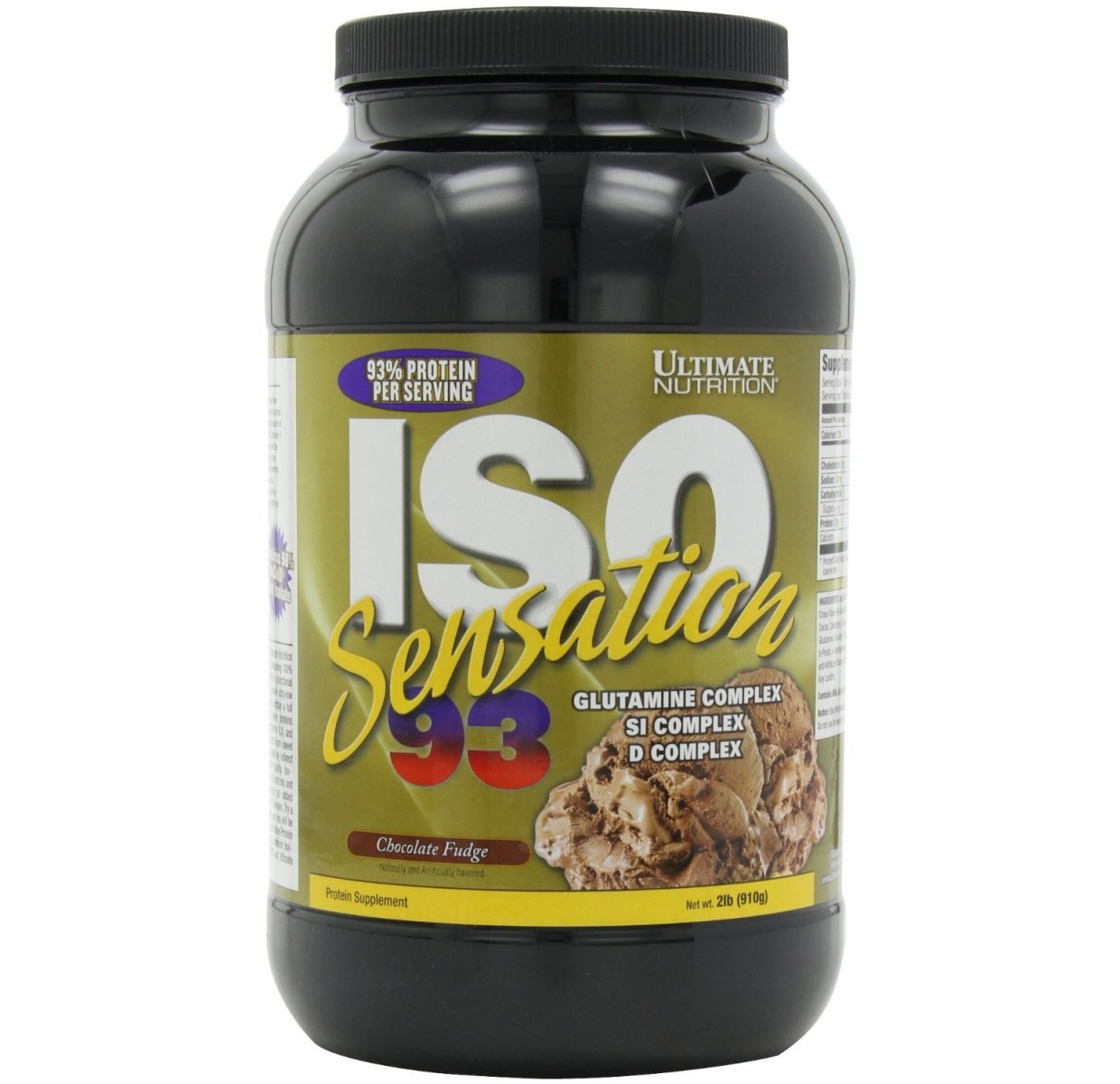 Ultimate Nutrition • ISO Sensation • 2 lbs / 908 г