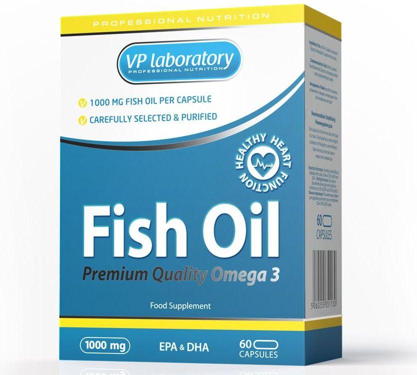 VPLab • Fish Oil • 60 капс.