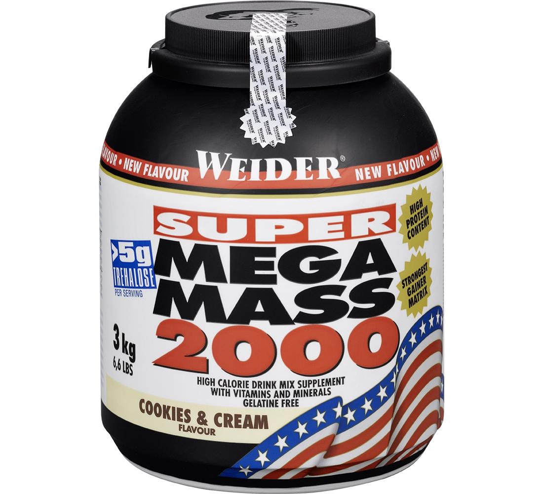 Weider • Mega Mass 2000 • 3000 гр.