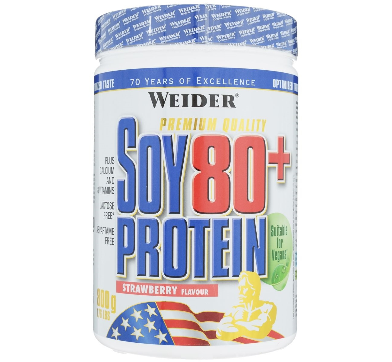 Weider • Soy 80 + Protein • 800 гр.