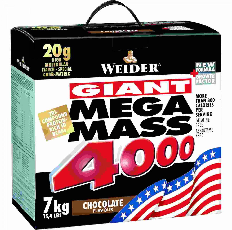 Weider • Mega Mass 4000 • 7000 гр.
