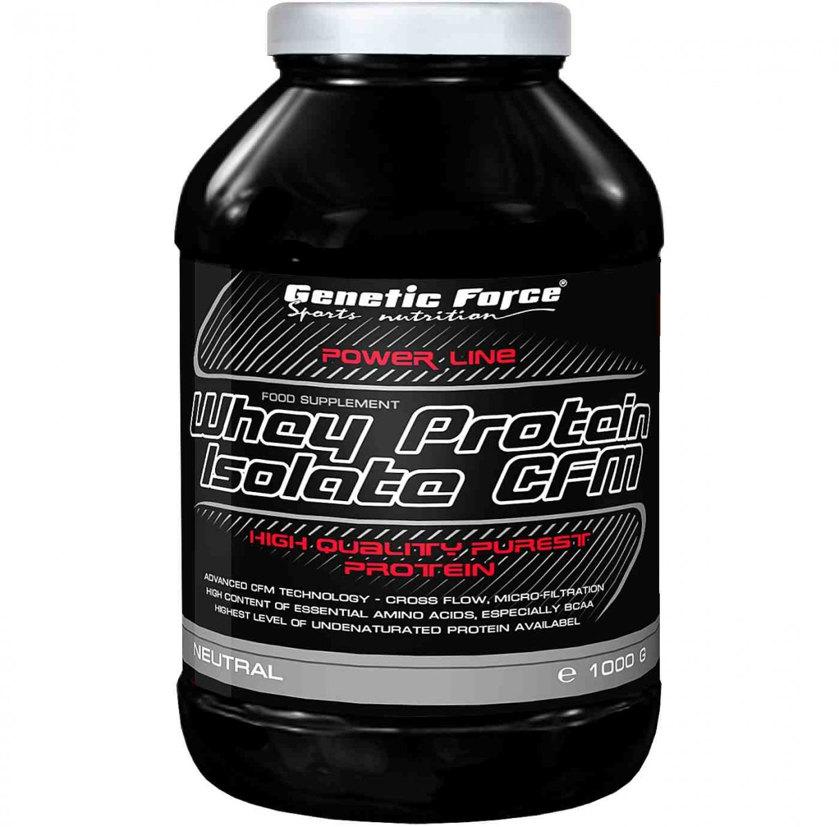 Genetic Force • Whey Protein Isolate CFM • 1000 гр.